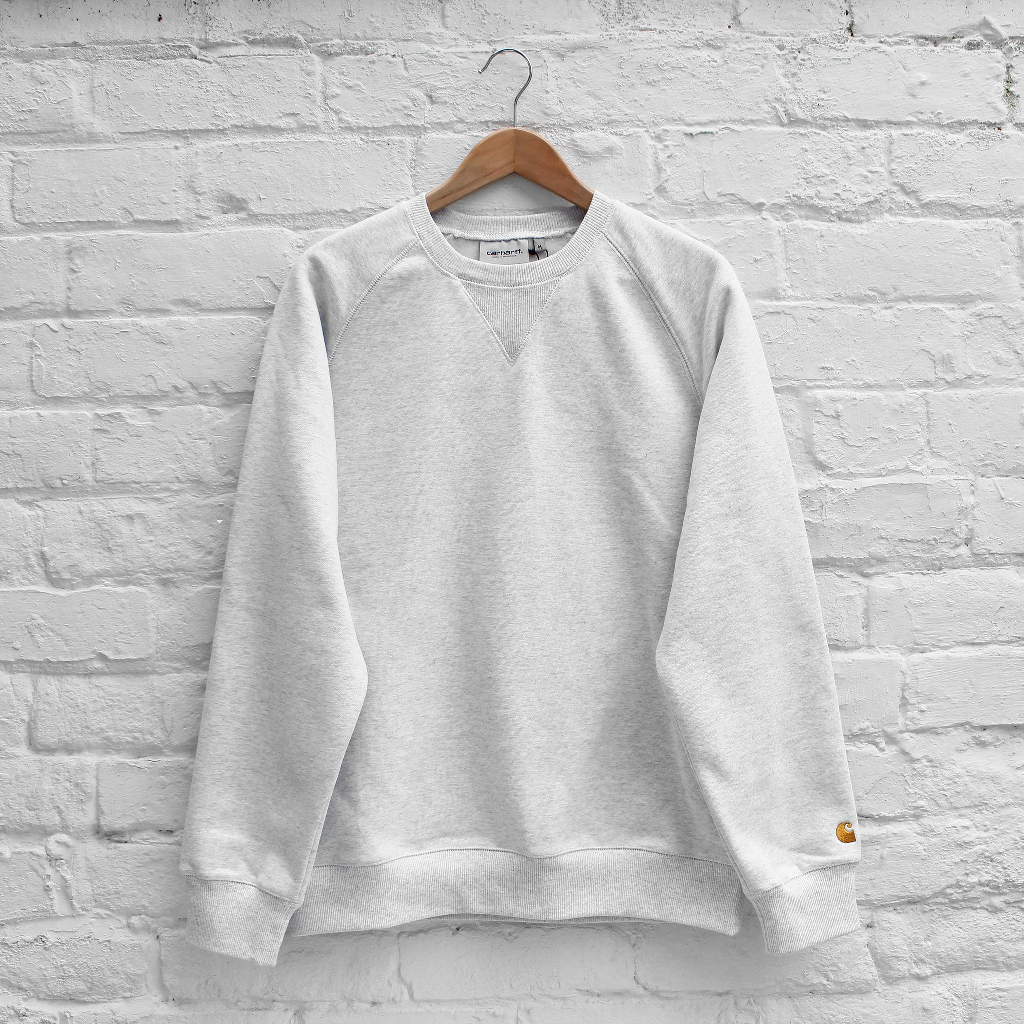 Carhartt WIP Chase Sweat Ash Heather