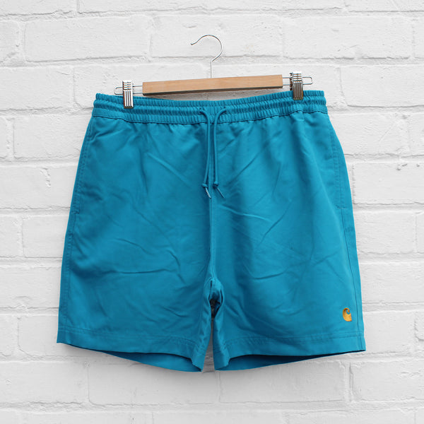 Carhartt WIP Chase Swim Trunk  Pizol/Gold