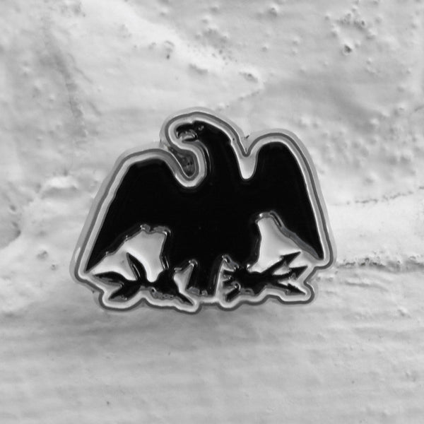 Carhartt WIP Eagle Pin Badge Silver