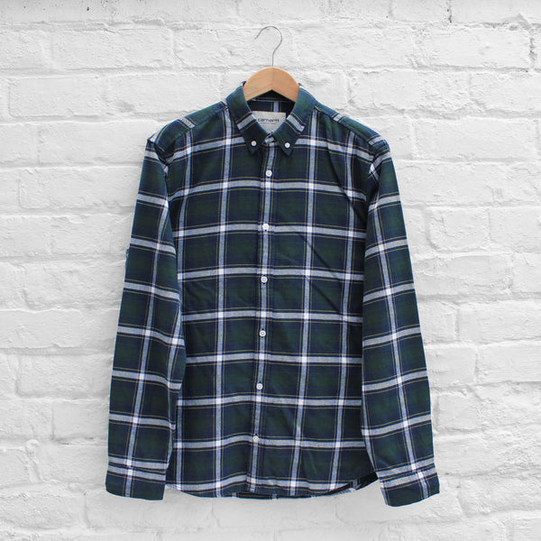 Carhartt WIP Lamont Shirt Laurel Check
