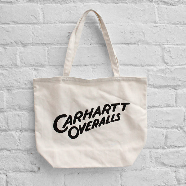 Carhartt WIP Overalls Tote Bag Wax