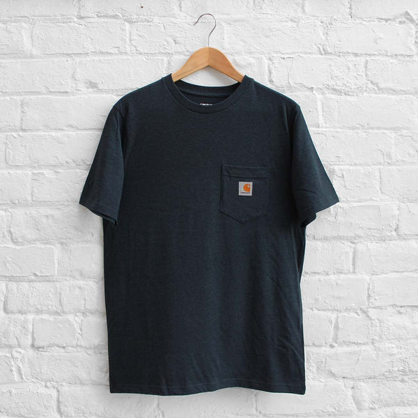 Carhartt WIP Pocket T-Shirt  Navy Heather