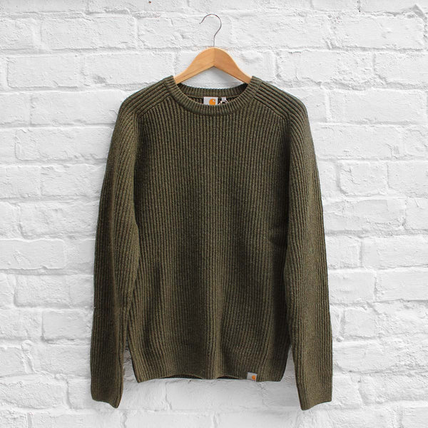 Carhartt WIP Rib Sweater Cypress Heather