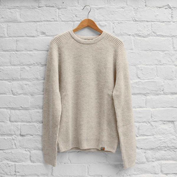 Carhartt WIP Rib Sweater Snow Heather