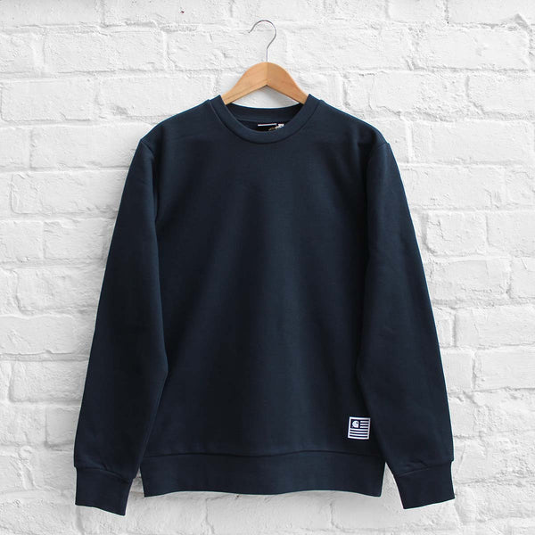 Carhartt WIP State Flag Sweat Navy