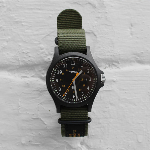 Carhartt WIP Timex Watch Military Green / Black