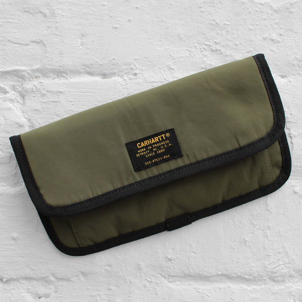 Carhartt WIP Military Travel Wallet Rover Green