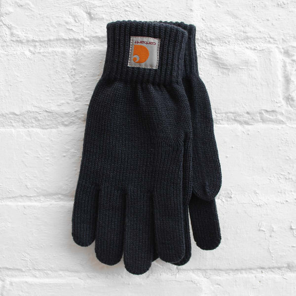 Carhartt WIP Watch Gloves Navy