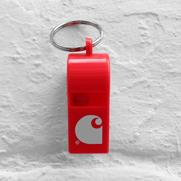 Carhartt WIP Whistle Keychain Red
