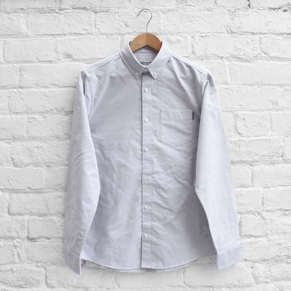 Carhartt WIP Button Down Pocket Shirt Dust