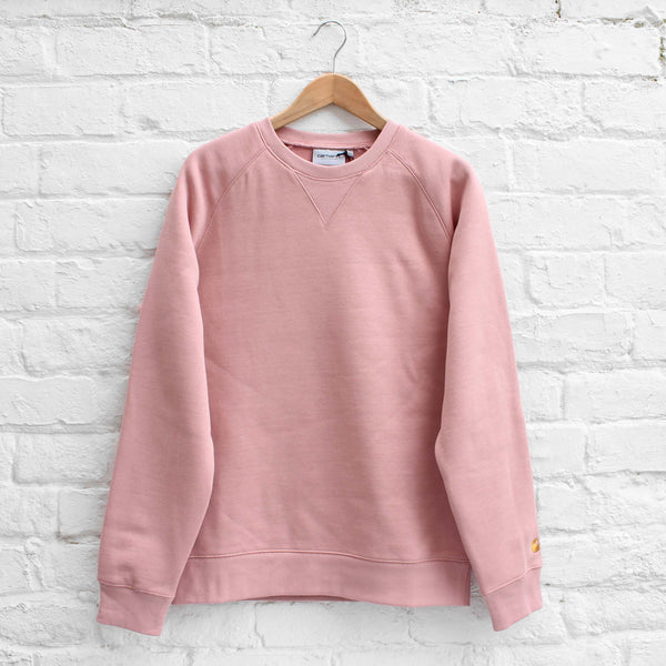 Carhartt WIP Chase Sweat Soft Rose