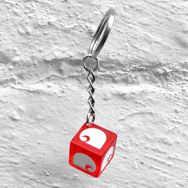 Carhartt WIP Dice Keychain Red