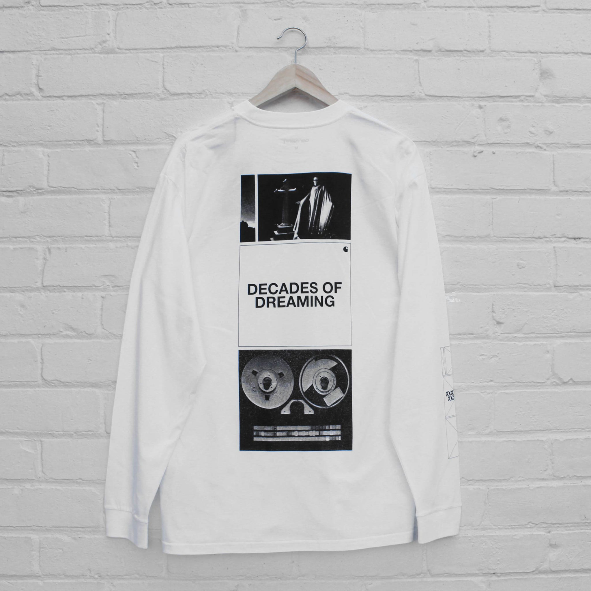 Carhartt WIP Dreaming Long Sleeve T-Shirt White