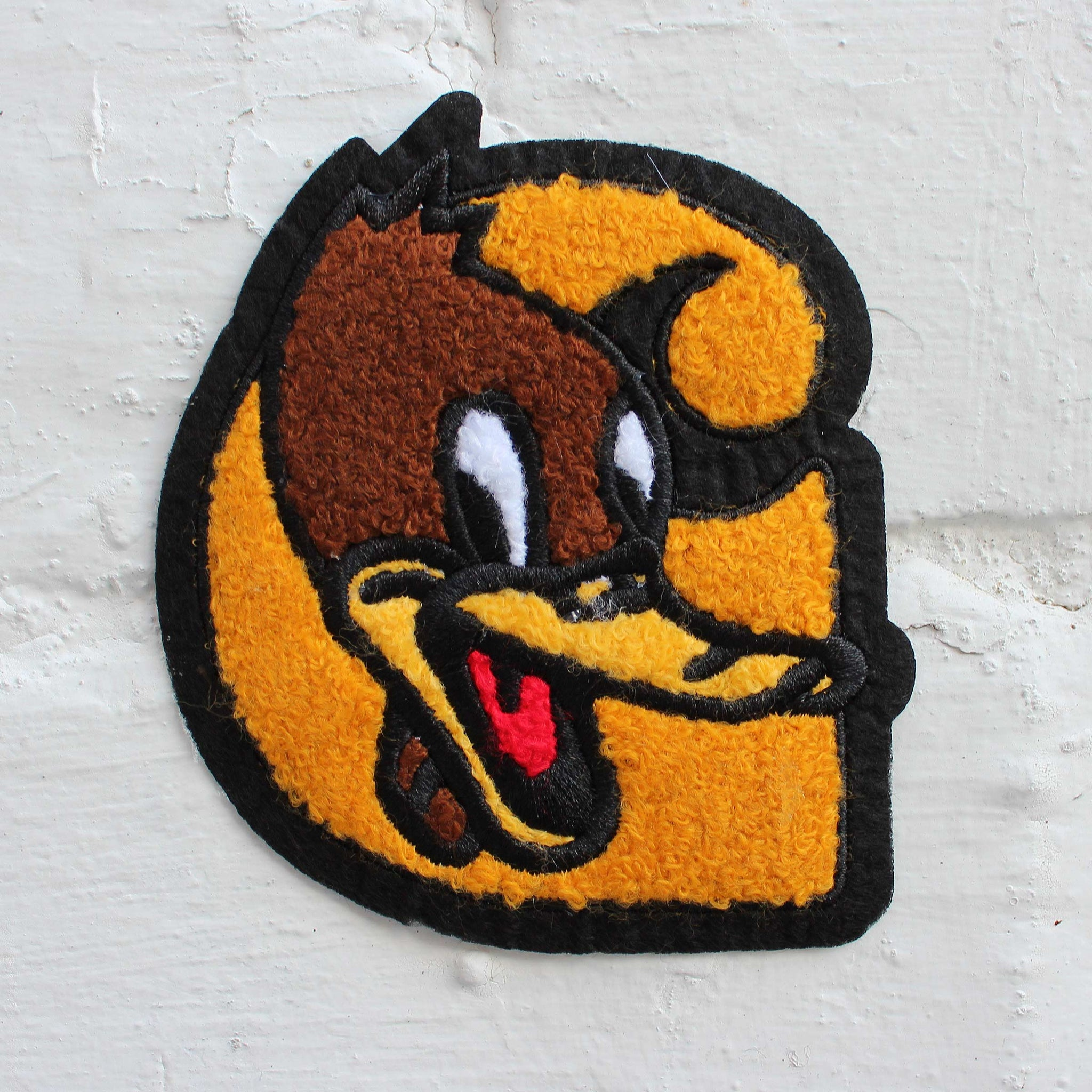 Carhartt WIP Duck C Woven Patch Yellow