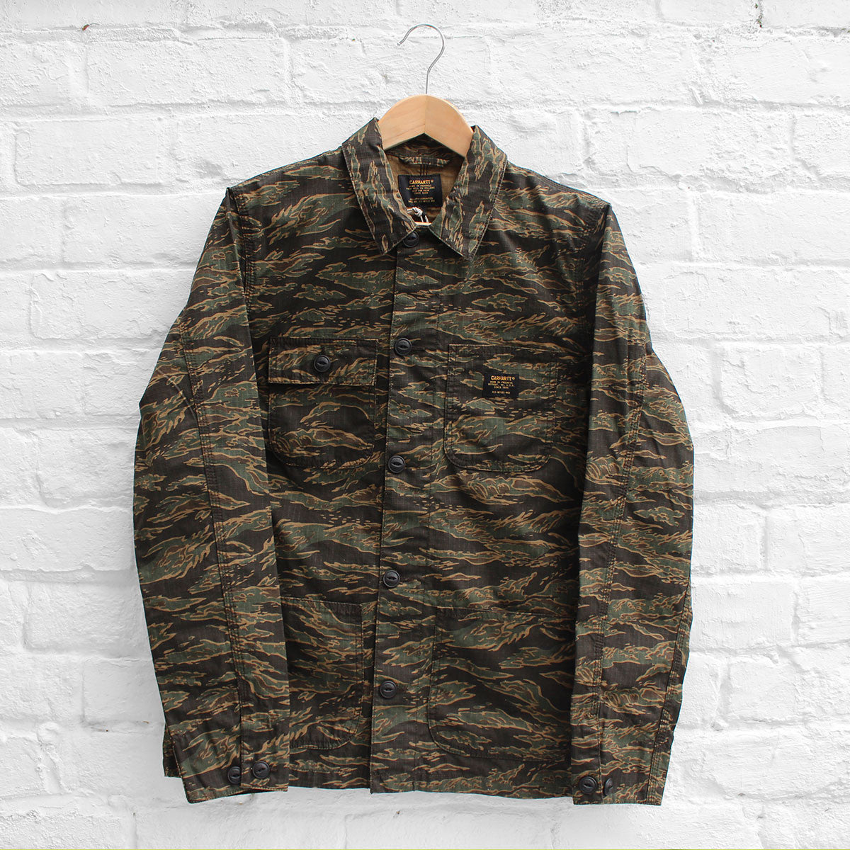 Carhartt WIP Michigan Chore Coat Tiger Camo
