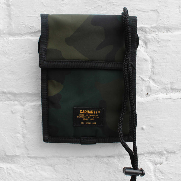 Carhartt WIP Military Neck Pouch Camo Combat Green