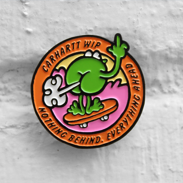 Carhartt WIP Nothing Behind Pin Badge Multicolour