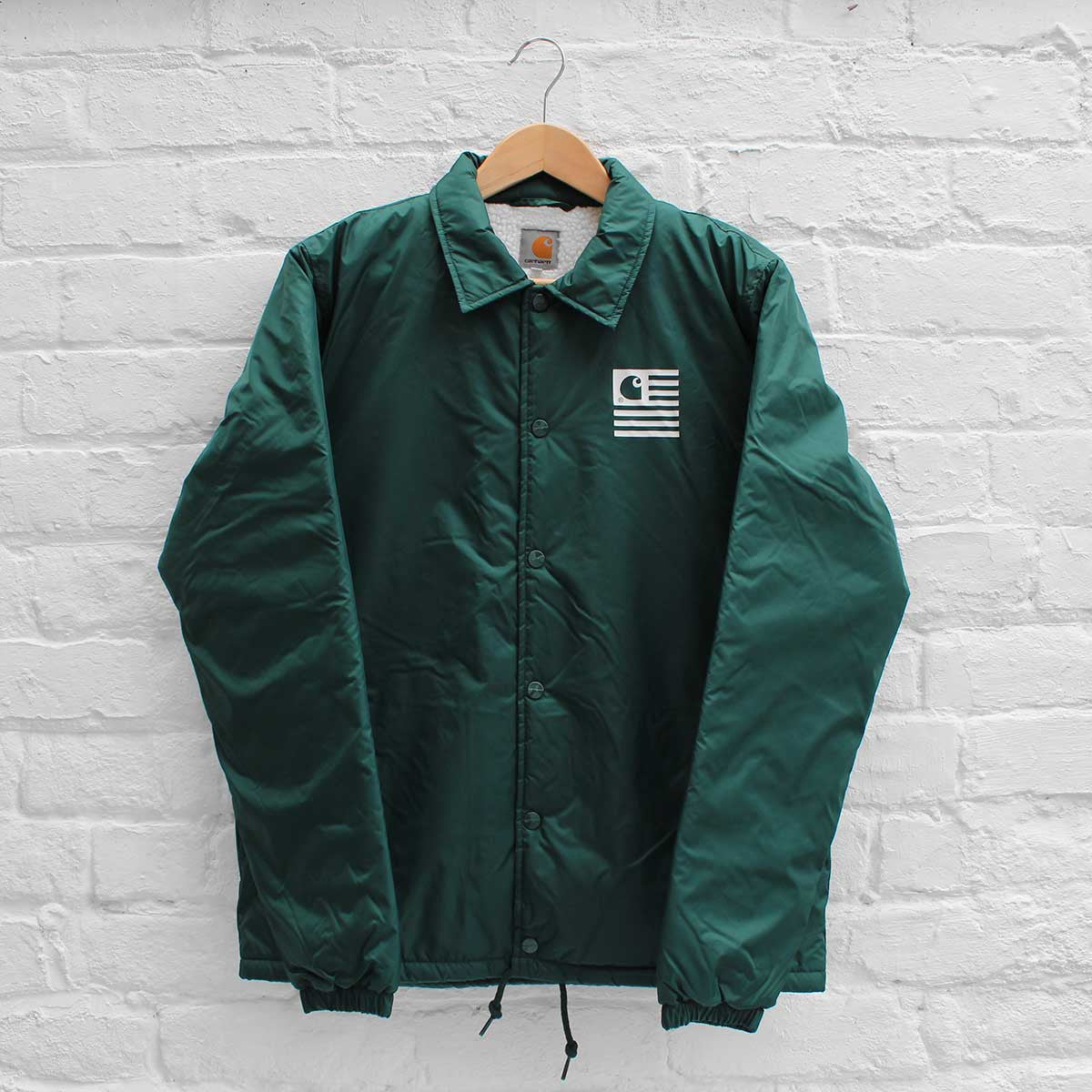 Carhartt WIP State Pile Coach Jacket Conifer