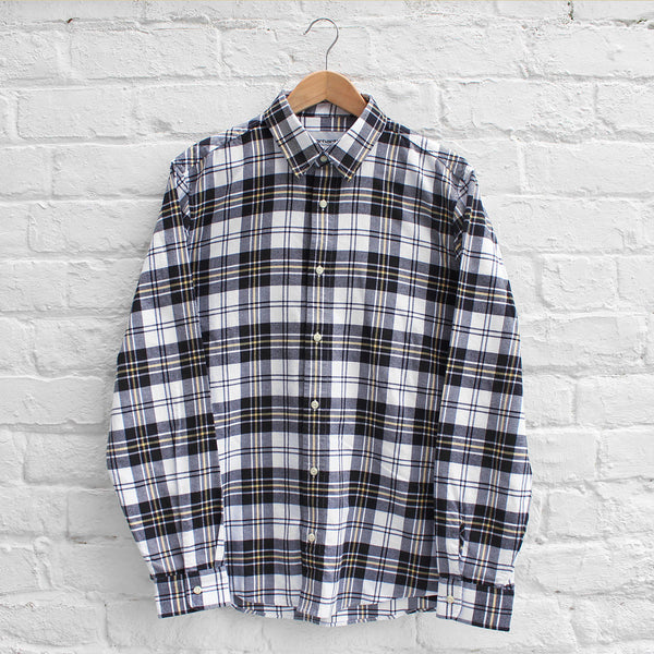 Carhartt WIP Wagon Shirt Black Check
