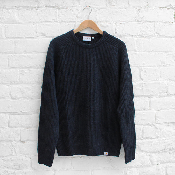 Carhartt Rib Sweater Dark Navy