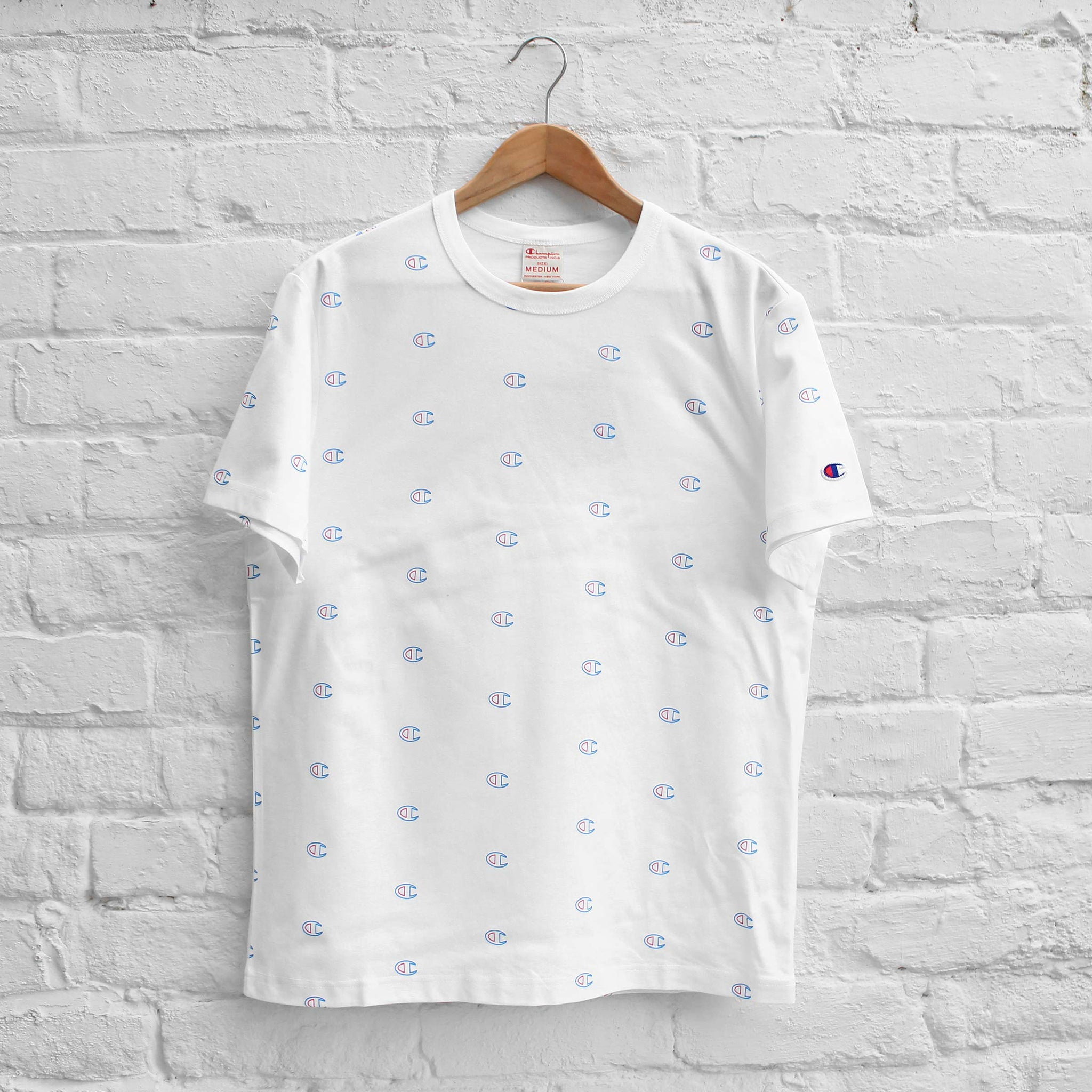 Champion Allover Print T-Shirt White