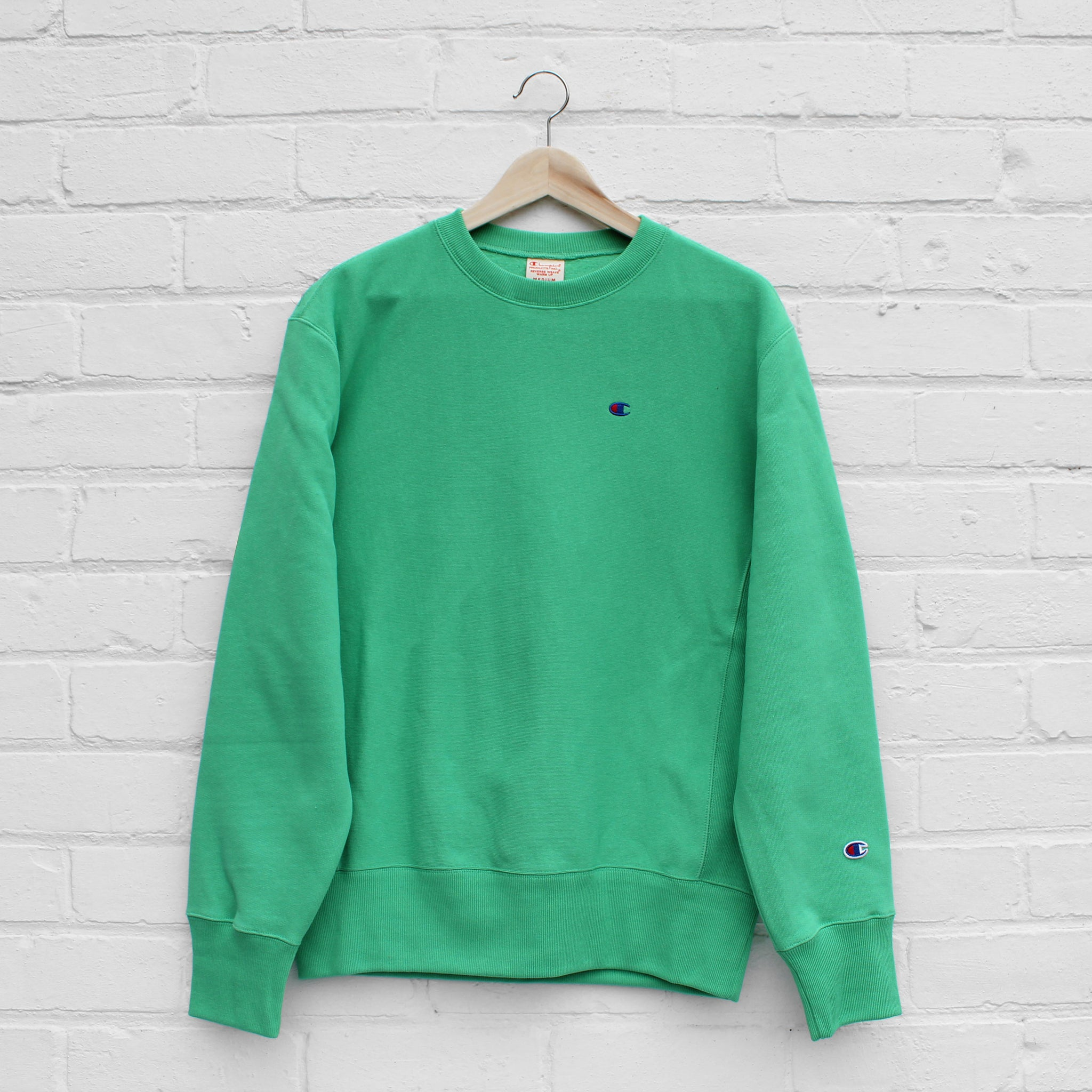 Champion Small C Sweat Crew Apple Green