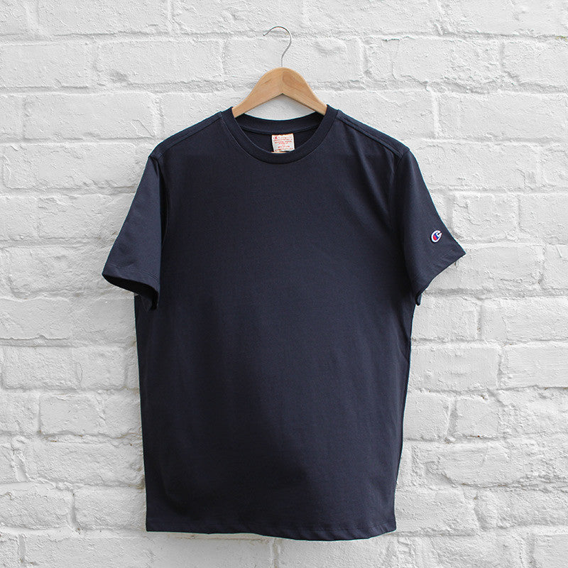 Champion Basic Crew T-Shirt - Navy