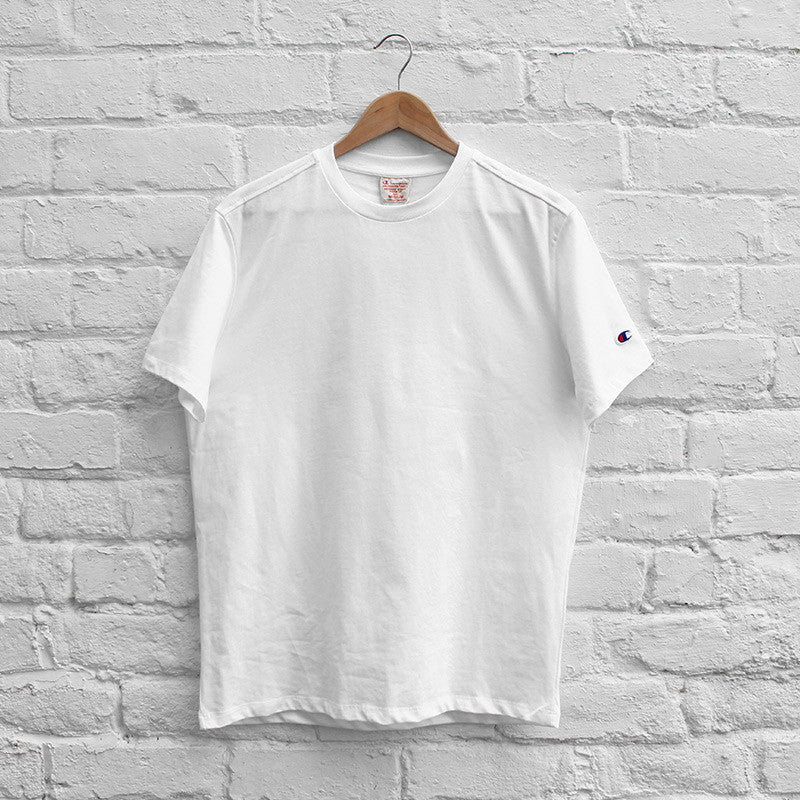 Champion Basic Crew T-Shirt - White