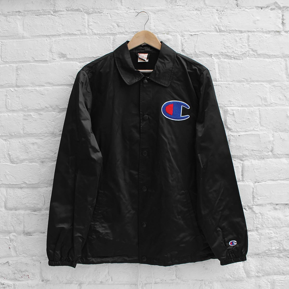 Champion Coach Jacket Black