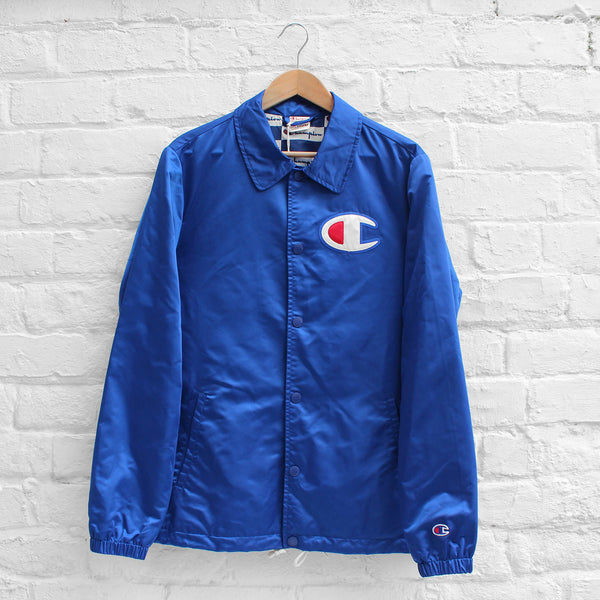 Champion Coach Jacket Royal Blue