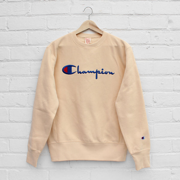 Champion Logo Sweatshirt Lemon