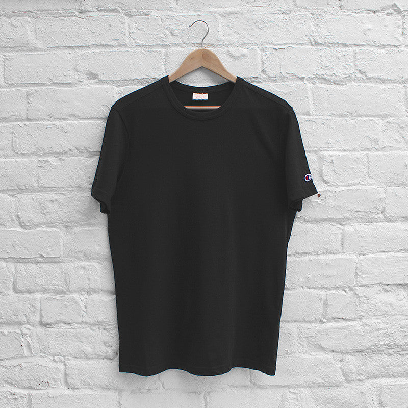 Champion Basic Crew T-Shirt Black