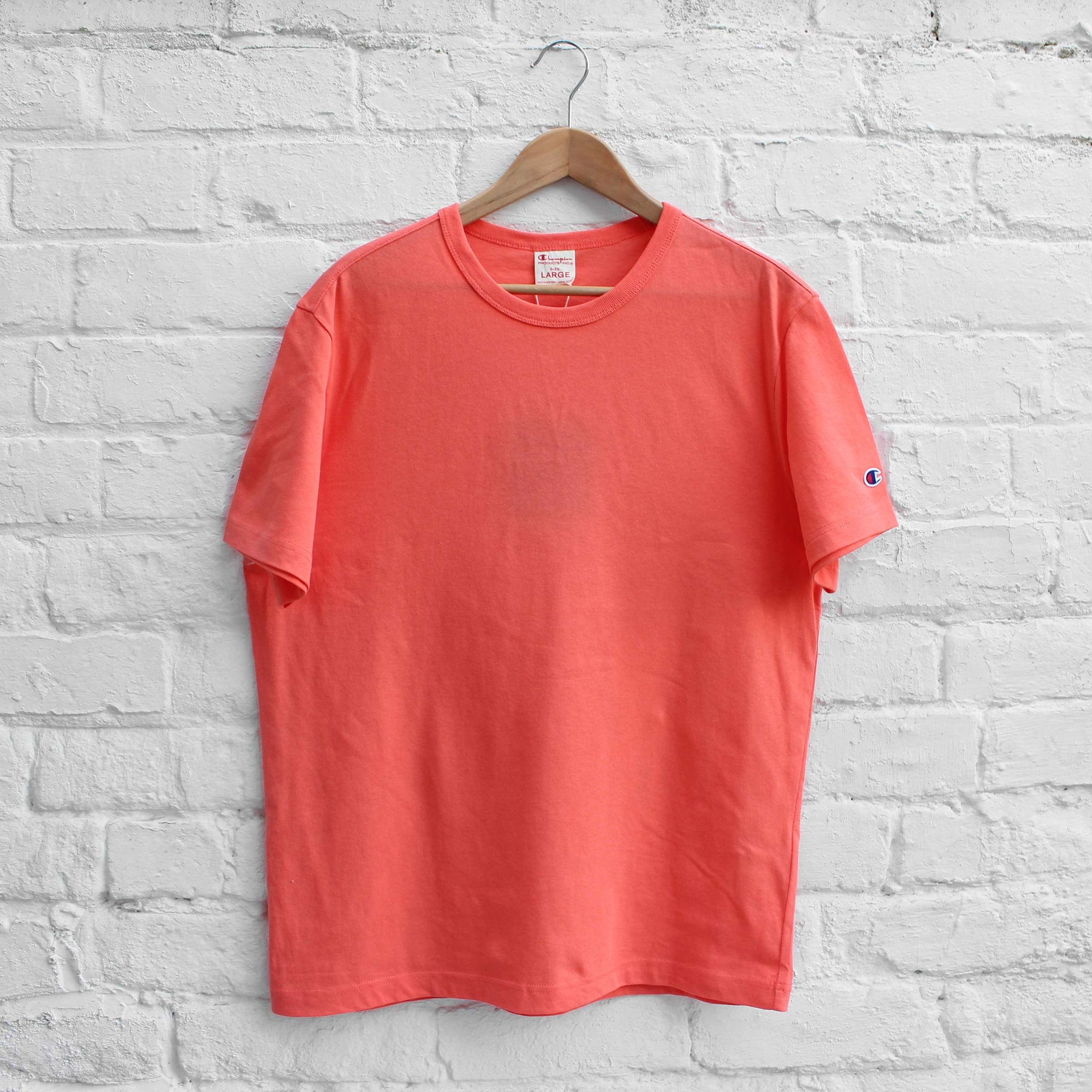 Champion Basic Crew T-Shirt Coral
