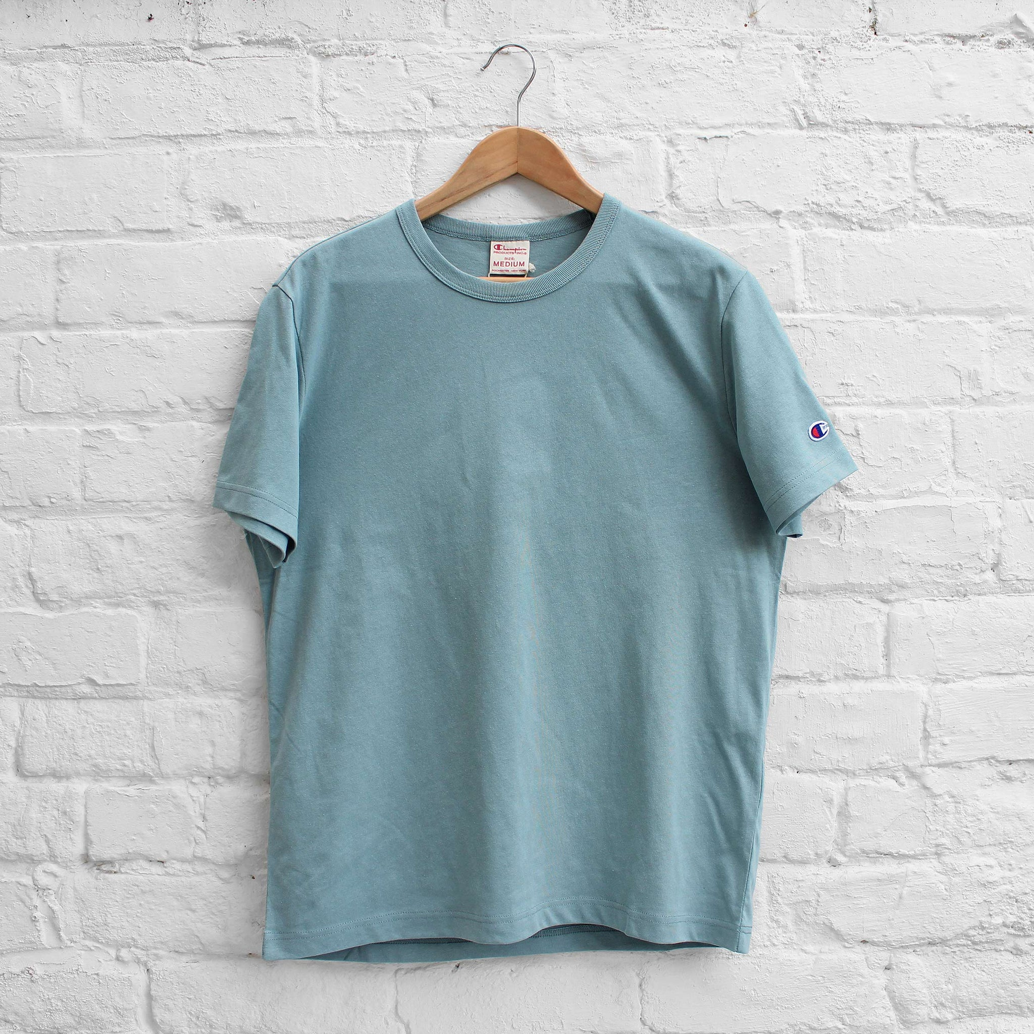 Champion Basic Crew T-Shirt Duck Egg