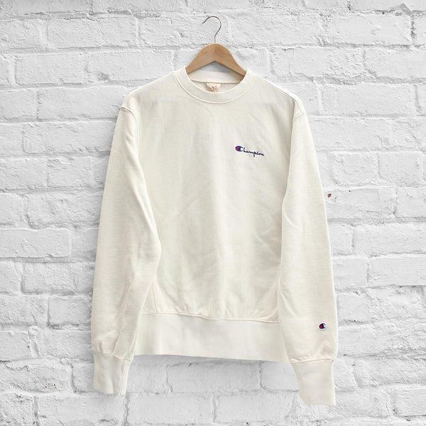 Champion Garment Dyed Classic Crew Sweat Natural