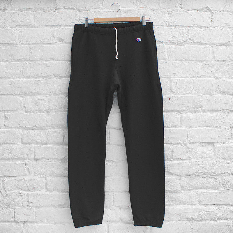 Champion Plain Track Pant Black