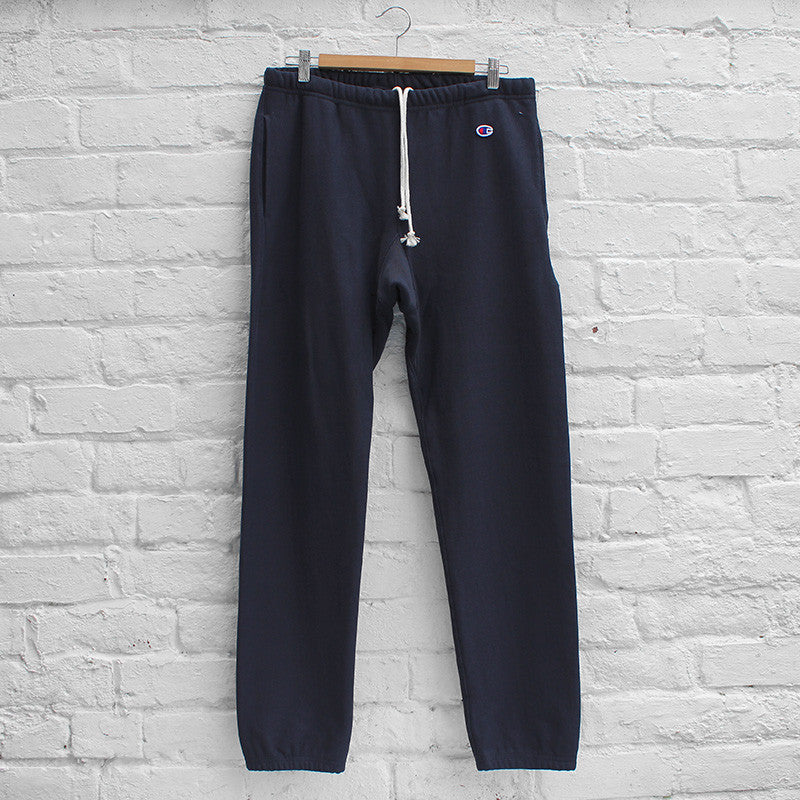 Champion Plain Track Pant Navy