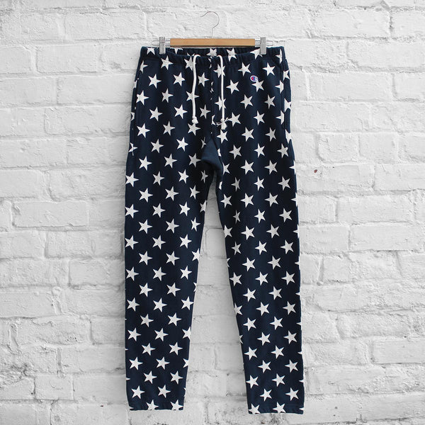 Champion Plain Track Pant Navy / Star