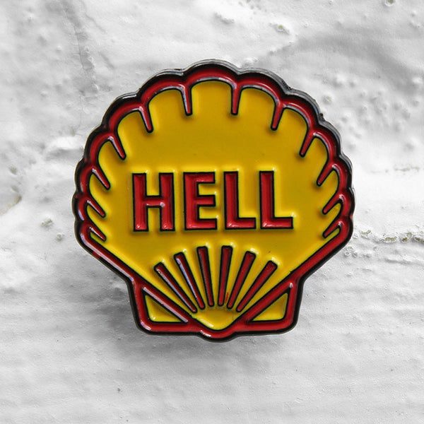 Cheat Death Corp. Burnin' Pin Badge