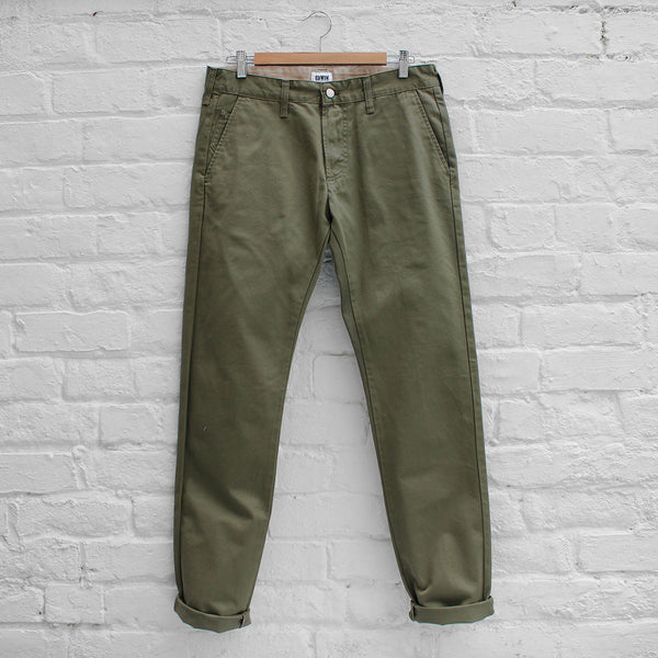 Edwin 55 Chino Military Green