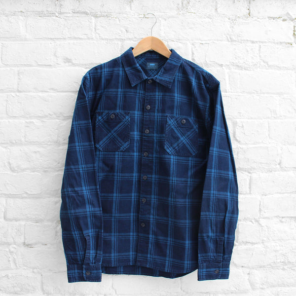 EDWIN Cell Shirt Indigo