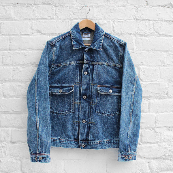 EDWIN E-Classic Denim Jacket Acid Wash