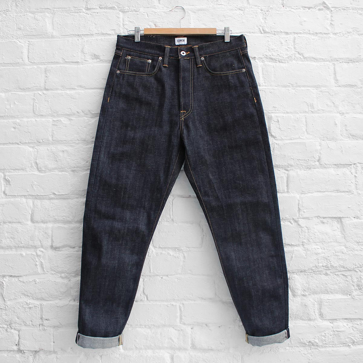 Edwin ED-45 Jeans Red Listed Selvage Unwashed