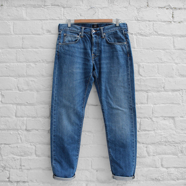 EDWIN Jeans  ED-55 - Kingston Blue Denim Clean Wash