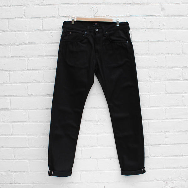 EDWIN ED-55 Red Selvage Black Denim