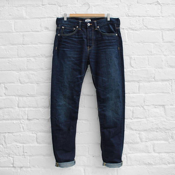 Edwin ED-80 - Deep Blue Denim Coal Wash