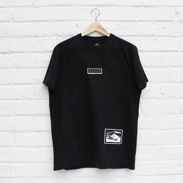 EDWIN Katakana Fuji Patch T-Shirt