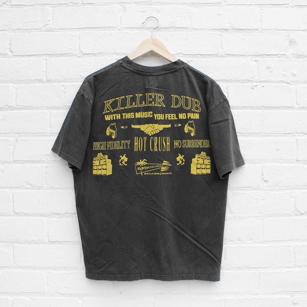 EDWIN Killer Dub T-Shirt Ebony