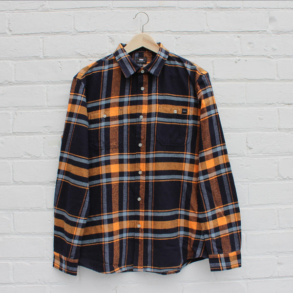 EDWIN Labour Shirt Orange Ochre