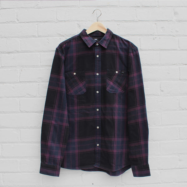 EDWIN Labour Shirt Plum
